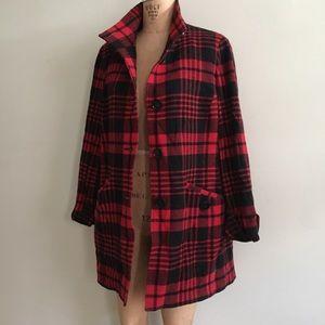 Vintage Anne Kline Buffalo Plaid Jacket